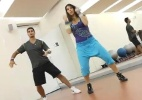 UOL Ginstica em Casa: veja treino de Zumba Fitness para alunos intermedirios  (Foto: Reproduo)