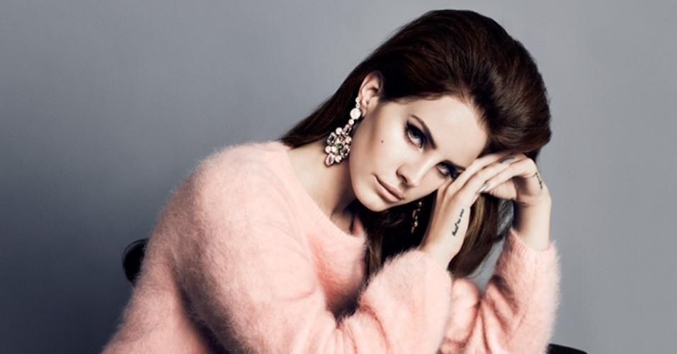 Lana del Rey para a campanha Inverno 2012/13 da H&M