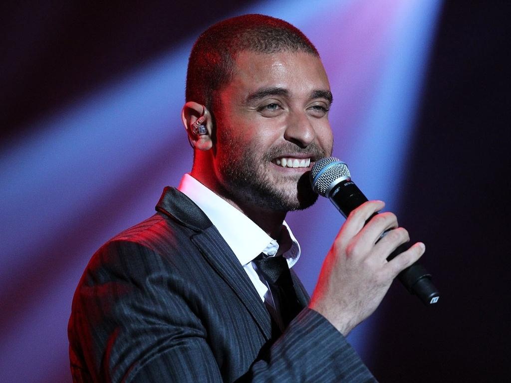O cantor carioca Diogo Nogueira canta