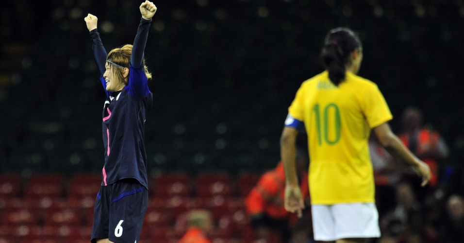 Termina o jogo, e a seleção brasileira de Marta e companhia está eliminada da Olimpíada