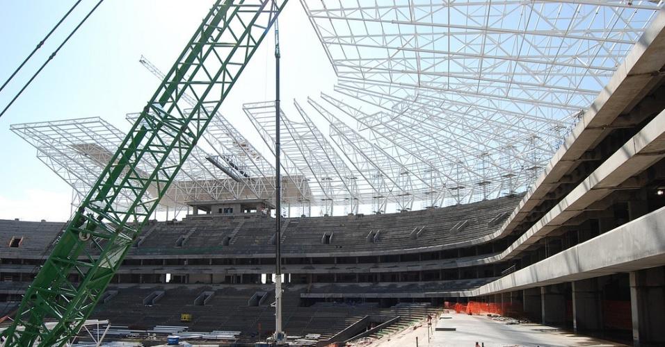 Arena do Grêmio terá 100% de acessibilidade para portadores de dificuldade (04/08/2012)