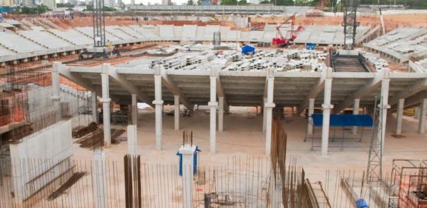 Arena da Amazônia, em Manaus (AM), teve um de seus jogos marcado para 21 horas