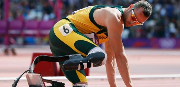 Pistorius é um dos grandes destaques da Paraolímpiada por também ter competido nos Jogos Olímpicos