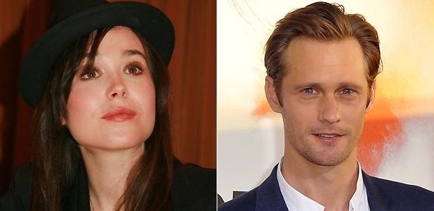 """Ellen Page e Alexander Skarsgard trabalharam juntos no filme """"The East"""""""