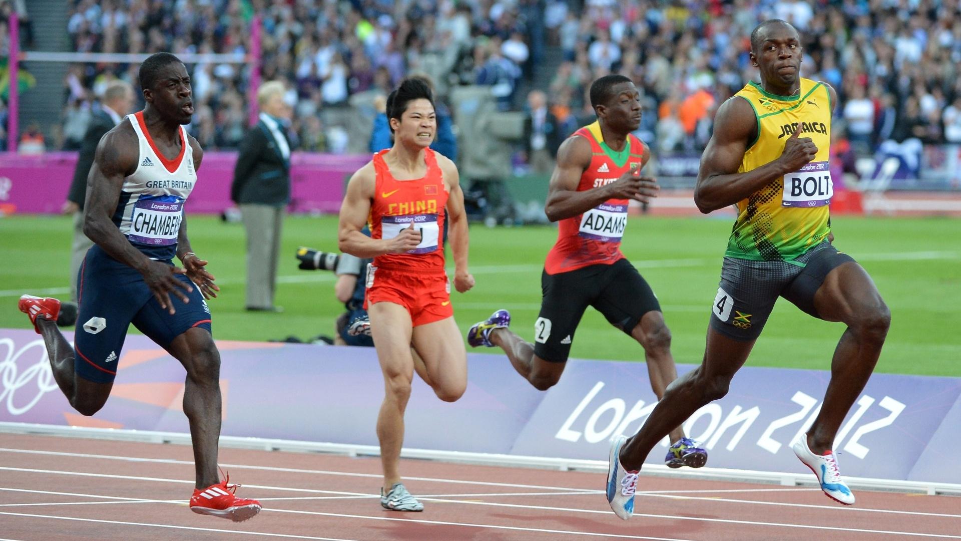 Jamaicano Usain Bolt domina série semifinal dos 100 m rasos, neste domingo