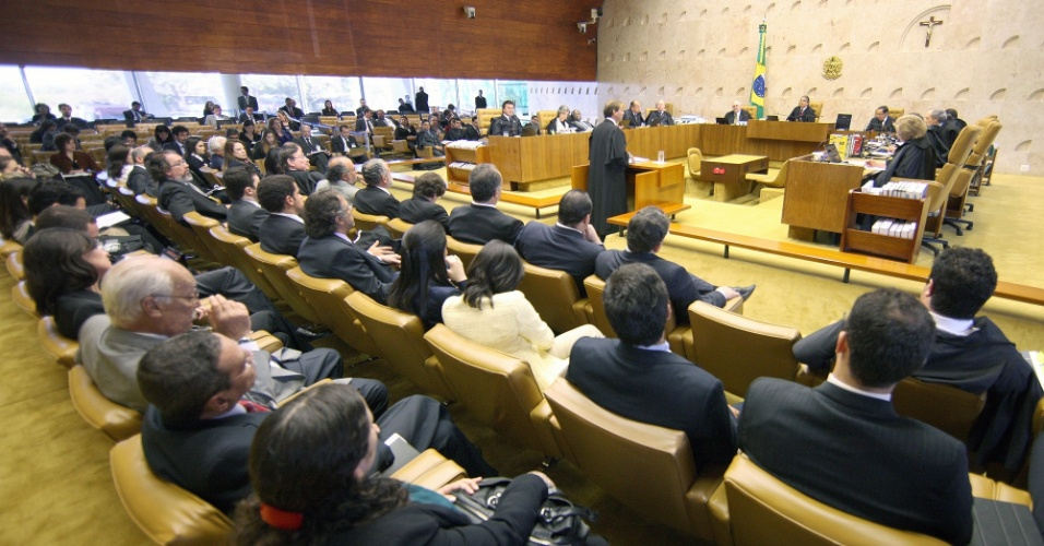 6.ago.2012 - O terceiro dia de julgamento do caso do mensal&#227;o teve in&#237;cio com a defesa de Jos&#233; Dirceu e Jos&#233; Genu&#237;no, r&#233;us no processo