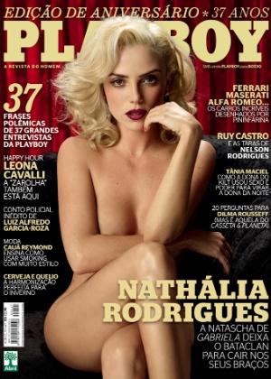 """A atriz Nathália Rodrigues, a Natascha de """"Gabriela"""", é a capa da Playboy do mês de agosto (agosto/12)"""
