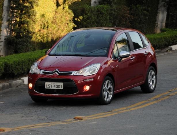 Citroën C3 2013 em sua configuração topo de linha Exclusive com novo motor 1.6 Flex Start