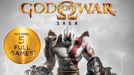 """God of War Saga"" reúne 5 jogos do grandalhão Kratos para PlayStation 3"