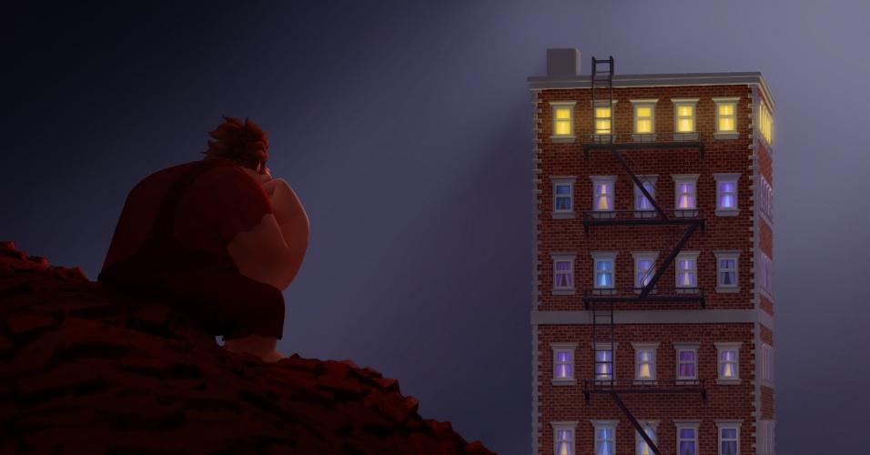 """""""Detona Ralph"""" é um filme da Disney /Pixar e pesta uma homenagem ao mundo dos games de uma forma honesta e justa."""