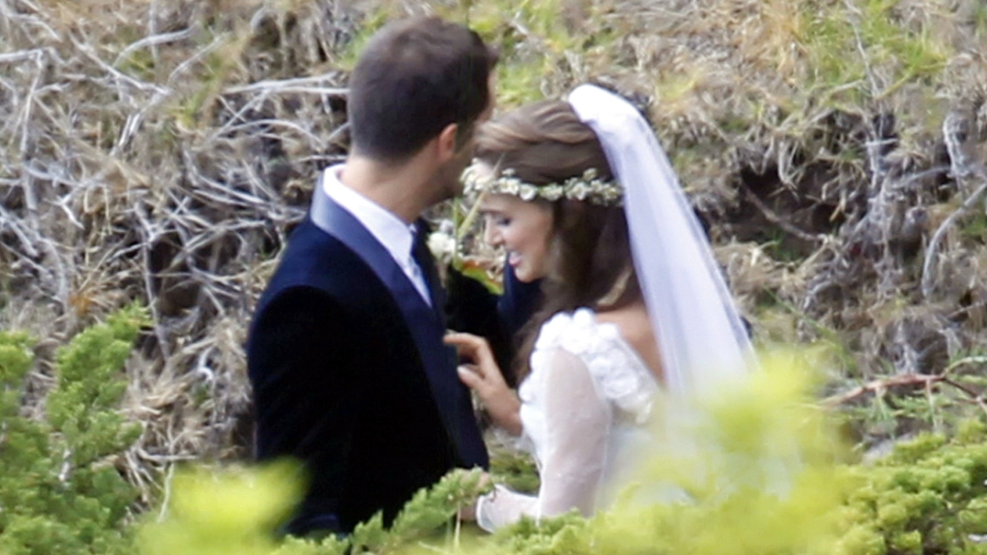 Natalie Portman e Benjamin Millepied se casam na Califrnia (4/8/12)