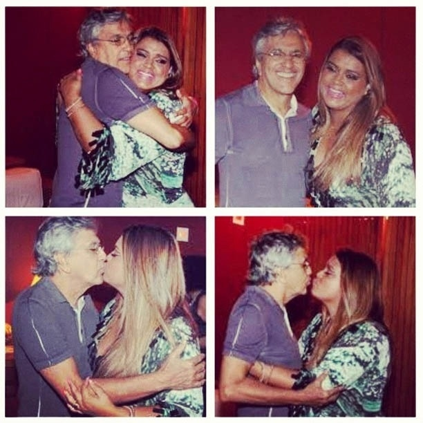 Preta Gil divulga foto em homenagem aos 70 anos de Caetano Veloso (7/8/2012)