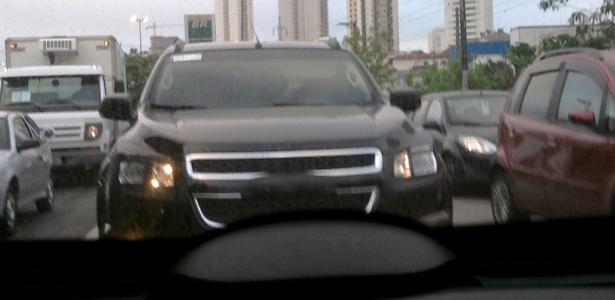 Chevrolet Blazer também traz a dianteira em forma de escudo seccionada por barra
