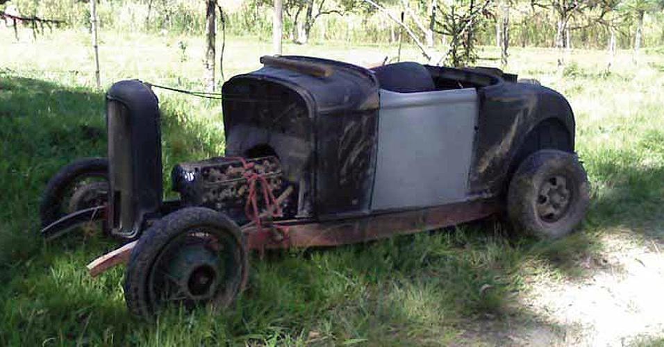 Ford 32 foi encontrado em sítio de Piracicaba (SP) e exigiu proeza no momento da restauração