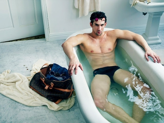 Michael Phelps na campanha Core Values da Louis Vuitton