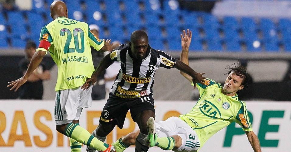 O Botafogo recebeu o Palmeiras,no Engenhão, com o objetivo de conquistar a segunda vitória consecutiva para se aproximar mais do G4. Já o Palmeiras precisa sair da zona do rebaixamento