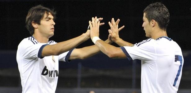 Kaká tem feito atividades sozinho pela manhã, treinando à tarde com o elenco do Real