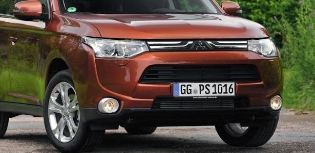 Mitsubishi Outlander 2013: design global e produção na fábrica da marca em Catalão, em Goiás