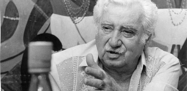O escritor Jorge Amado no Rio de Janeiro (1984)