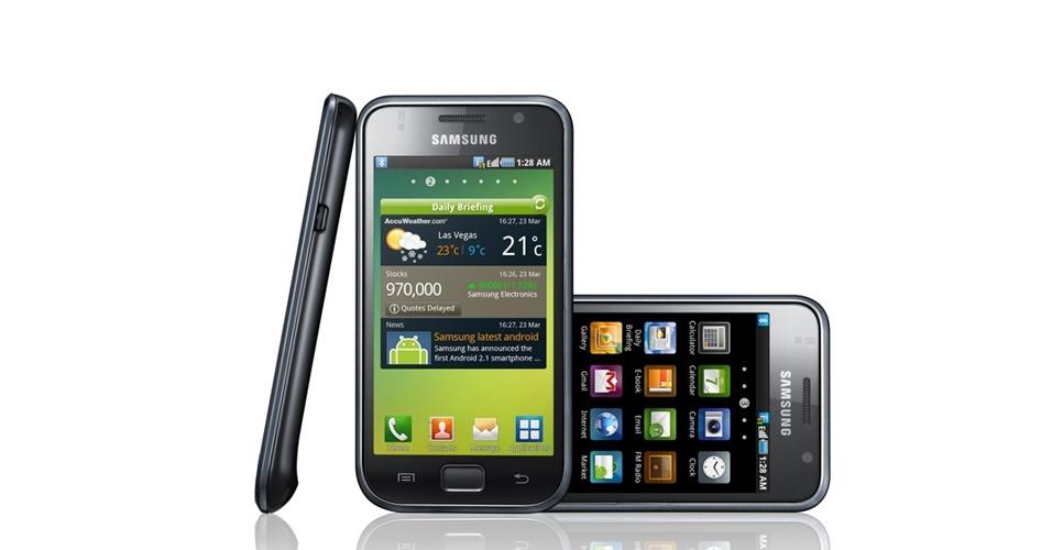 Smartphone Galaxy S i900 foi apresentado em 2010; foi um dos primeiros a ser considerado iPhone killer