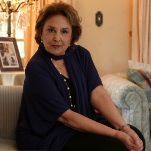 Eva Wilma no Festival de Gramado de 2012 quando foi homenageada por sua obra