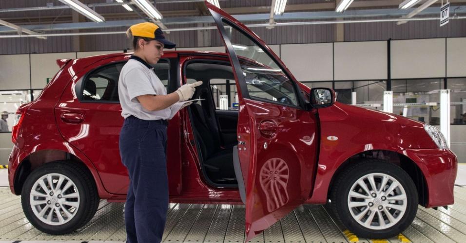 A Toyota divulgou planos ousados para o Brasil: dobrar suas vendas nos próximos dois anos e, em dez, estar entre os líderes do mercado