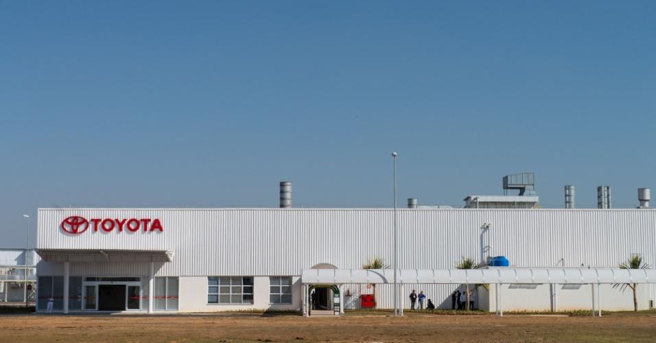 A unidade tem capacidade produtiva prevista para 70 mil unidades anuais -- a mesma que a da sede em Indaiatuba (SP), onde é feito o Corolla