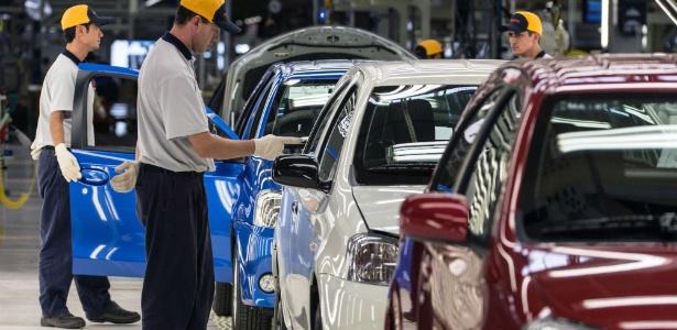 Fábrica da Toyota em Sorocaba (SP): se marcas são estrangeiras, é difícil falar em tecnologia nacional
