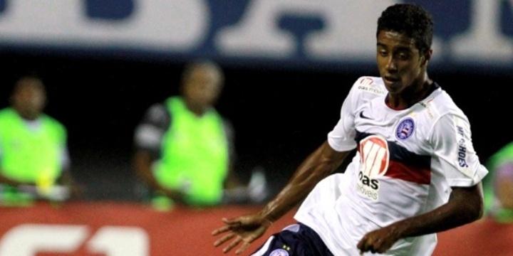 Gabriel participa de jogo do Bahia pelo Campeonato Baiano