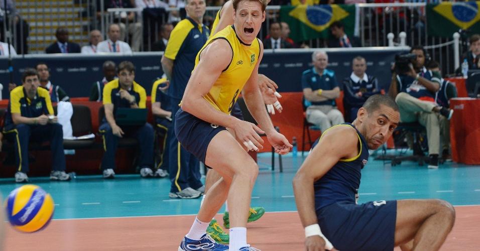 Murilo e Serginho não conseguem evitar ponto da Rússia na derrota brasileira de virada