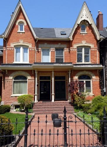 Casa em estilo vitoriano revisitado, no Canadá