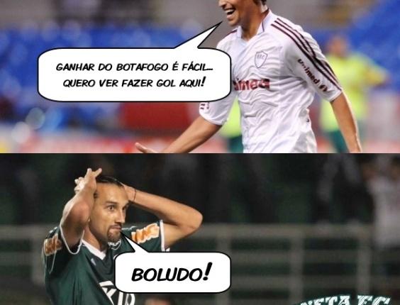 Corneta FC: Mal acostumado com Botafogo, Barcos é cornetado por tricolores