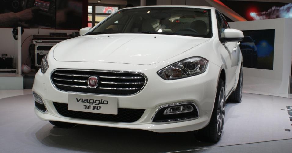 Fiat Viaggio, sedã médio baseado no Dodge Dart e fabricado sobre plataforma do Alfa Romeo Giulietta, foi apresentado no Salão de Pequim, em abril, mas só agora teve mais detalhes revelados