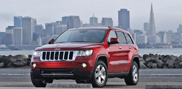 Jeep Grand Cherokee: nos EUA é carro de classe média baixa; no Brasil, só o bacana tem...