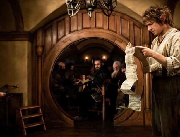 Cena de O Hobbit, novo filme de Peter Jackson, que estreia dia 28 de novembro na Nova Zelândia