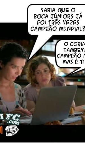 Corneta FC: É...é tipo Fifa.