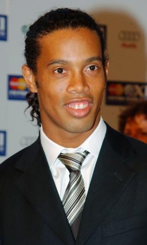 O jogador de futebol Ronaldinho Gaúcho