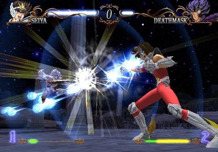 """Outro da era PlayStation 2, """"Saint Seiya: The Hades"""" levou dezenas de cavaleiros a se enfrentarem em combates individuais"""