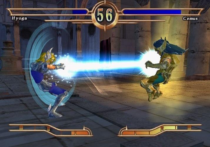 """Para os fãs de lutas à la """"Street Fighter"""", """"Saint Seiya: Chapter Sanctuary"""" foi a primeira opção no PlayStation 2"""