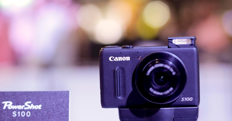 Câmera digital Canon PowerShot S100