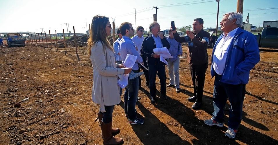 Vanderlei Luxemburgo opina sobre a construção do novo CT do Grêmio (15/08/2012)