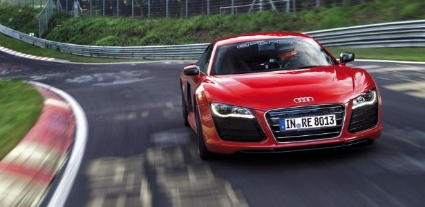 Com 8min09s99, Audi R8 e-tron é o carro totalmente elétrico mais rápido de Nürburgring