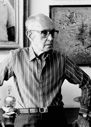 El poeta brasileño Carlos Drummond de Andrade