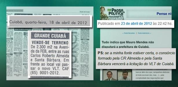 Publicações em jornal e site anteciparam resultado de licitação de R$ 1,47 bilhão em Cuiabá