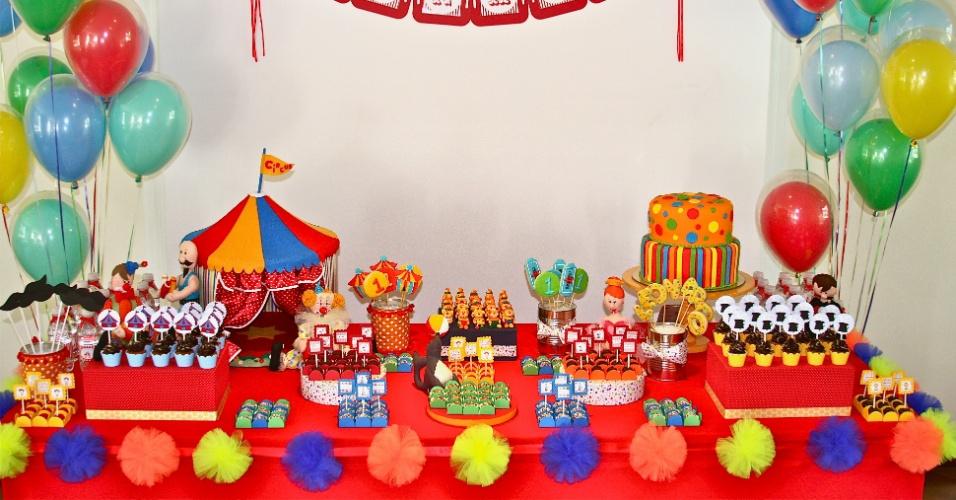 Decoração Festa Infantil Provençal Ursinha Rosa e Marrom