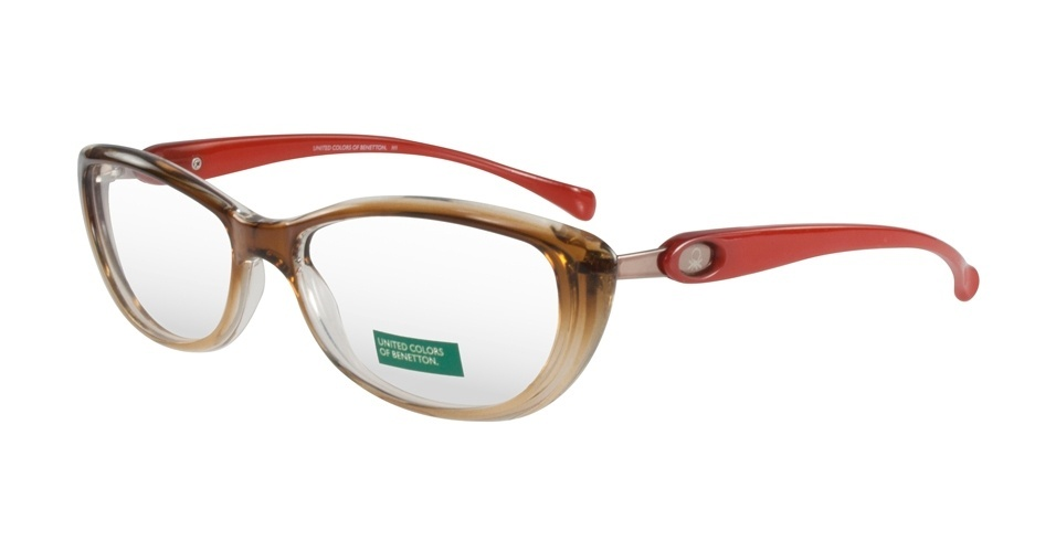 Copie o estilo da personagem Noêmia e invista em um óculos de grau bege, como o da Benetton, que custa R$ 273 (SAC 0800 703 9444). Preço pesquisado em agosto de 2012 e sujeito a alterações