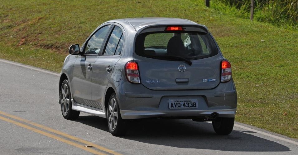 O desenho da traseira do March gera discussões desde que o carro foi lançado: feio ou conservador?