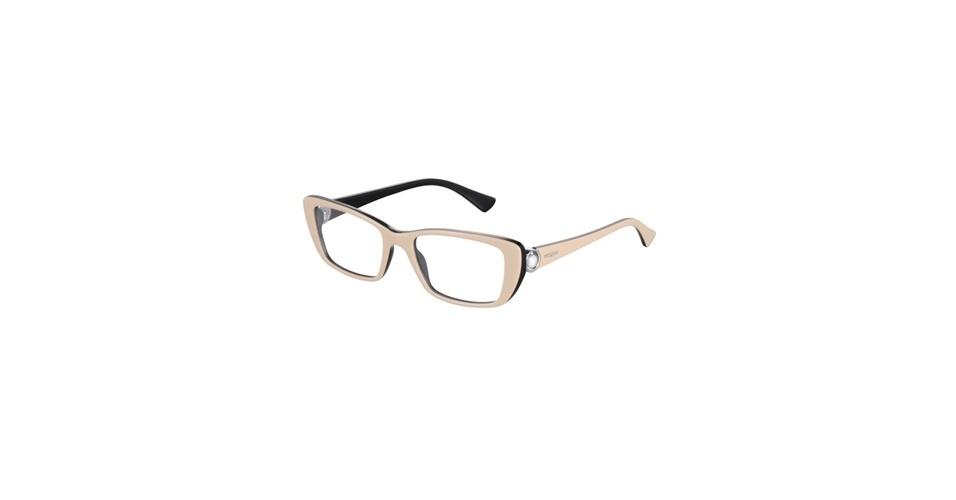 Óculos bege da Vogue Eyewear; R$ 480, na Luxottica (Tel.: 11 4003-8225). Preço pesquisado em agosto de 2012 e sujeito a alterações