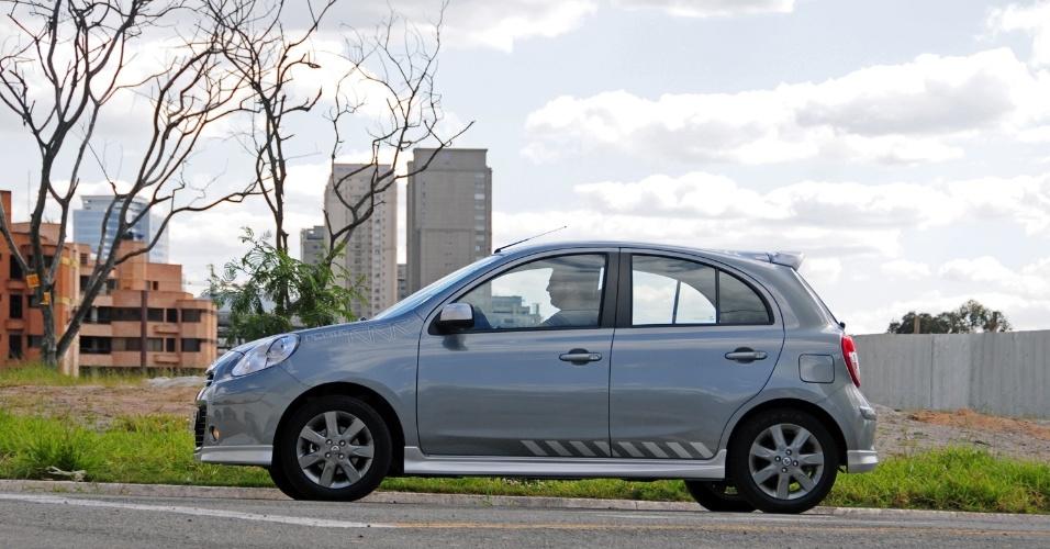 Ótimo nível de equipamentos e de diversão por R$ 38.690: este é o novo Nissan March 1.6 SR Premium