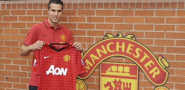 Manchester United deve ter um ataque poderoso com a dupla Van Persie (foto) e Rooney